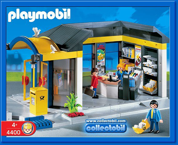 17b service au public 4400 bureau de poste photo archive article playmobil. Black Bedroom Furniture Sets. Home Design Ideas