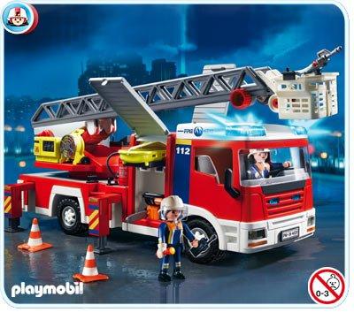 27A VEHICULES POMPIER 4820 Camion de pompiers grande échelle