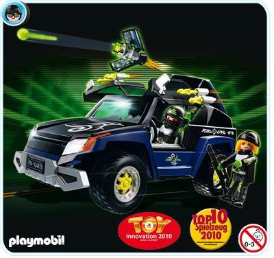 24 TOP AGENT 4878 le 4x4 du Robo-Gang