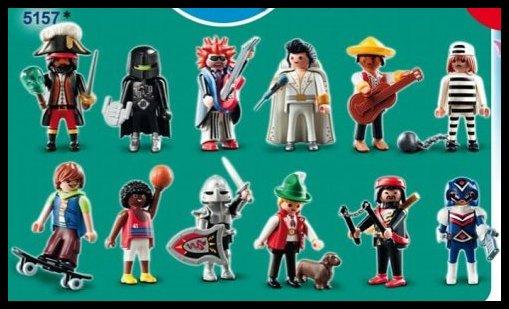 0B POCHETTE SURPRISE 5157 & 5158 figurines (série 2)