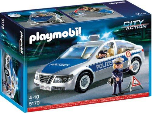 25a police allemande v hicules 5179 voiture de police avec lumi re photo archive article playmobil. Black Bedroom Furniture Sets. Home Design Ideas