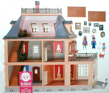 08 habitat 5300 maison 7411 photo archive article playmobil. Black Bedroom Furniture Sets. Home Design Ideas