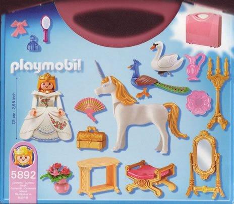 5A MAGIE FÉERIE & LICORNE 5892 malette princesse - photo ...