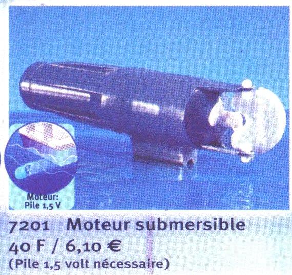 0A RADIOCOMMANDE & ÉLECTRIQUE 7201 moteur submersible