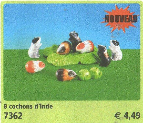 7362 les cochons d'inde