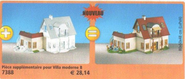 9 maison moderne 7388 pi ce suppl mentaire pour 4279 for Playmobil villa moderne maison 4279