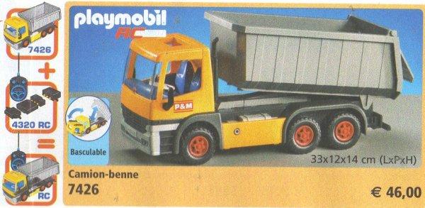 19 chantier construction 7426 camion benne photo archive - Playmobil camion chantier ...