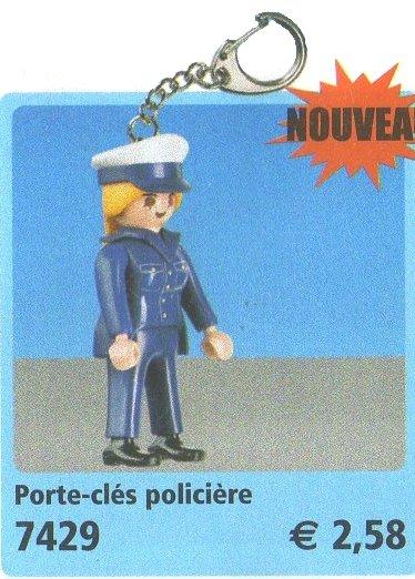 0C PORTES CLEFS 7429 policière