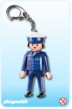 0C PORTES CLEFS 7431 policier
