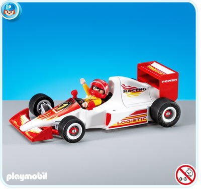 16d circuit auto kart moto 7448 voiture de course blanche photo archive article playmobil. Black Bedroom Furniture Sets. Home Design Ideas