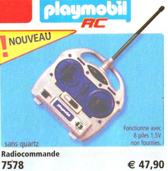 0A RADIOCOMMANDE & ÉLECTRIQUE 7578 radiocommande