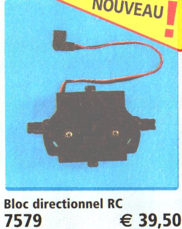 0A RADIOCOMMANDE & ÉLECTRIQUE 7579 bloc directionnel pour véhicule radio commandé