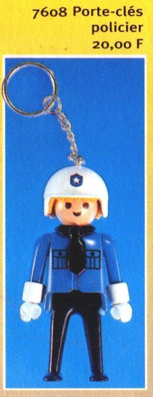 0C PORTES CLEFS 7608 policier