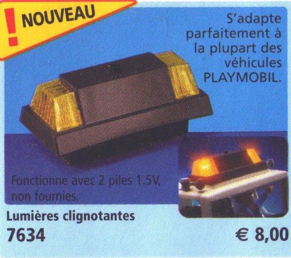 0A RADIOCOMMANDE & ÉLECTRIQUE 7634 lumières clignotantes