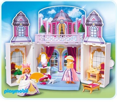 5 royaut monarchie 5419 chambre de princesse transportable - Playmobil Chambres Princesses