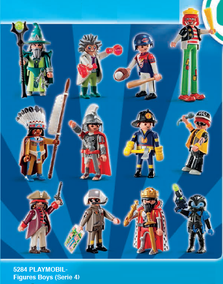 0B POCHETTE SURPRISE 5284 figurines garçon (série 4)