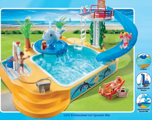 Articles de boble playmobil archive tagg s playmobil 5433 photo archive article playmobil for Piscine playmobil