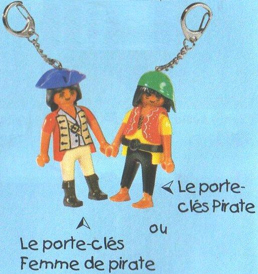 0C PORTES CLEFS 7940 femme pirate  + ???? pirate 2008