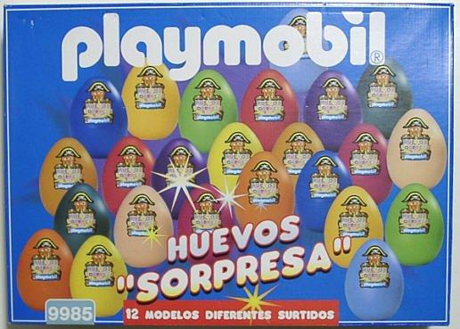 1A ¼UF DE PÂQUES 9985 set 12 oeufs espagnol