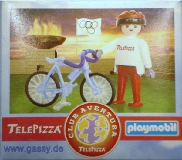 """16C CYCLISTE DE PISTE/ROUTE hors série """"télépizza"""" CYCLISTE"""