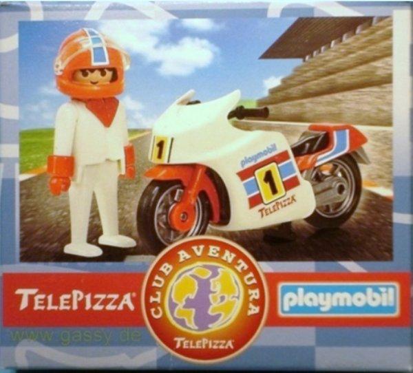 """16D CIRCUIT AUTO/KART& MOTO hors série """"télépizza"""" MOTO DE COURSE"""