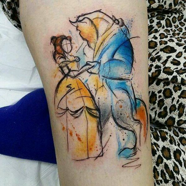 Mes passions? Les tatoos et Disney