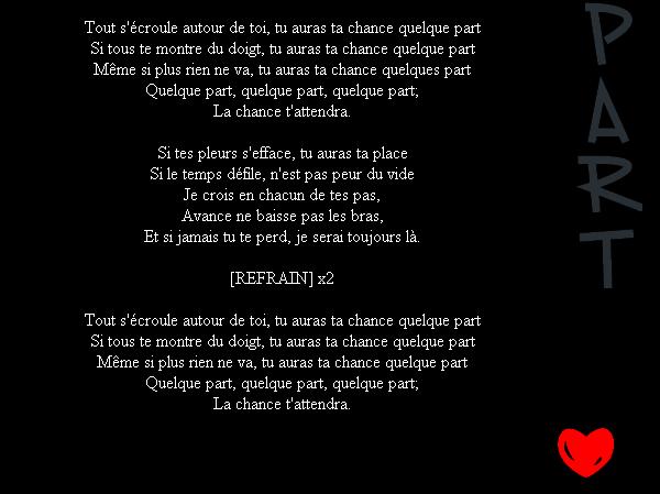 Quelque Part (2012)