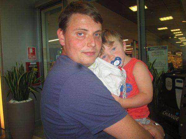 Moi et mon fils :)