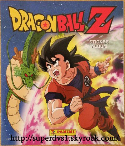 [Dragon Ball Z] Album Panini 2008'