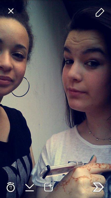 Avec Omri <3