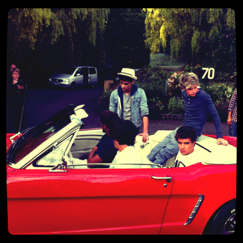 One Direction - Photoshoot Take Me Home