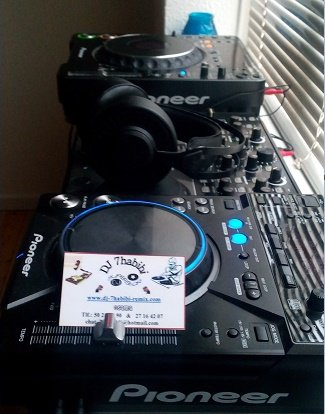 Pioneer Mixer dj7habibi