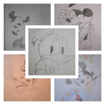 Un MOntage de mes dessins !!