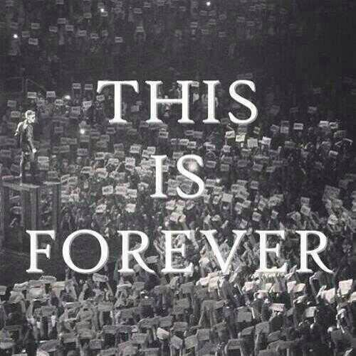 This is forever...
