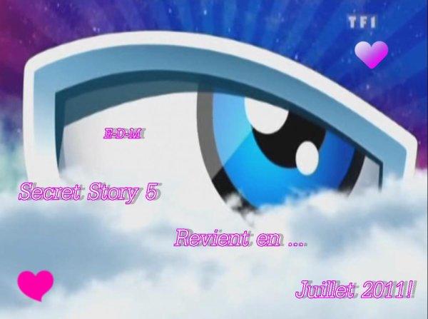 Secret Story 5(Info)!