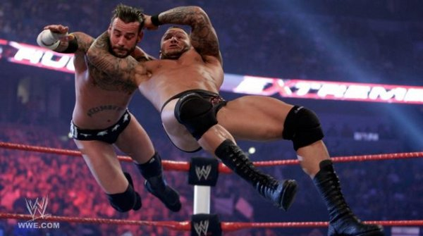 Randy Orton VS CM Punk (Extreme Rules )