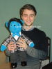 Dan pose avec Finchy :B