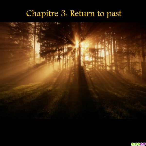 Chapitre 3: Return to past.