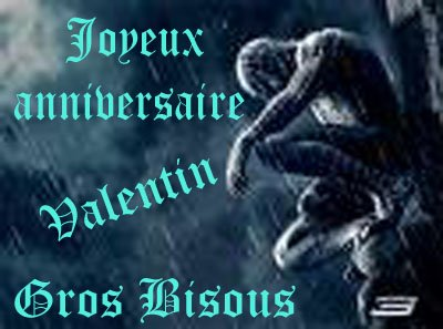 0 Oo Un Joyeux Anniversaire Valentin Oo 0