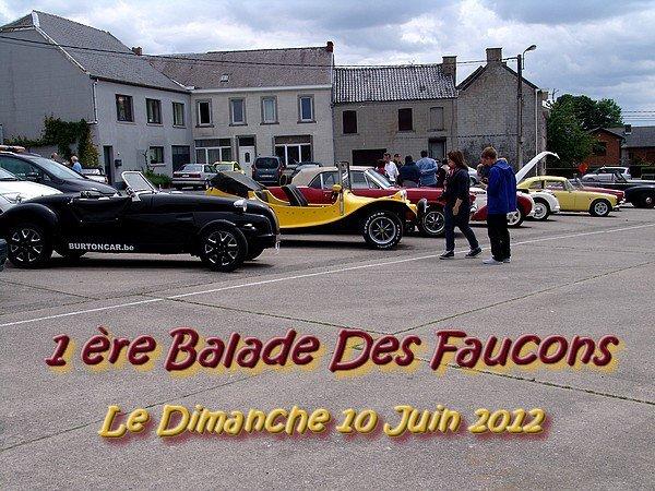 1ère BALADE DES FAUCONS - dimanche 10 juin 2012