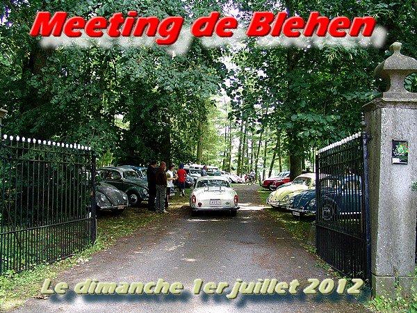 MEETING DE BLEHEN - le dimanche 1er juillet 2012