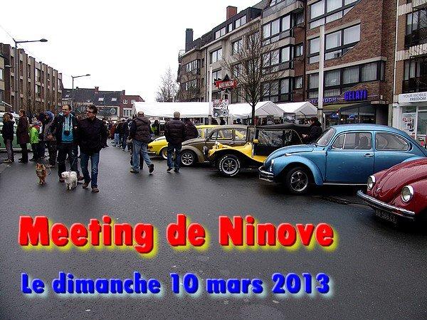 MEETING DE NINOVE le dimanche 10 mars 2013
