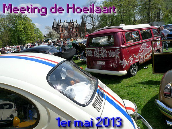 MEETING DE HOEILAART - Le 1er mai 2013