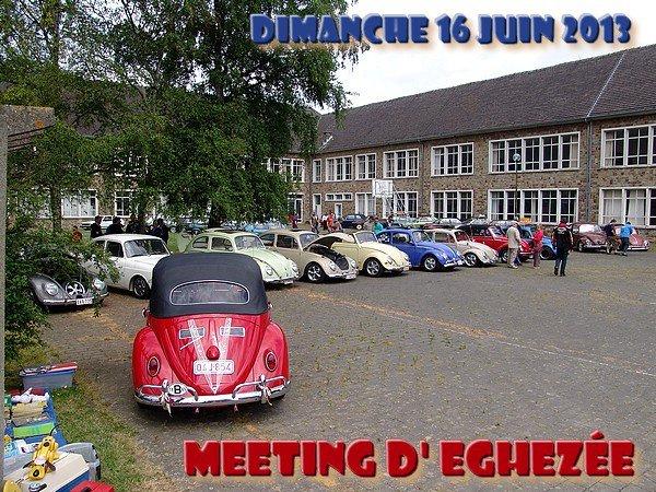 MEETING D' EGHEZEE - Le dimanche 16 juin 2013