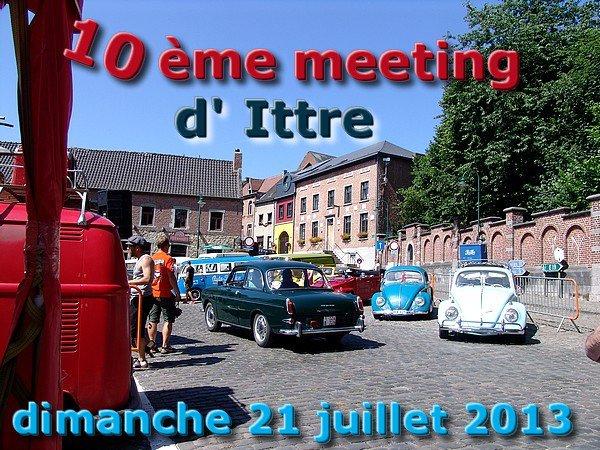 10ème MEETING D' ITTRE - dimanche 21 juillet 2013