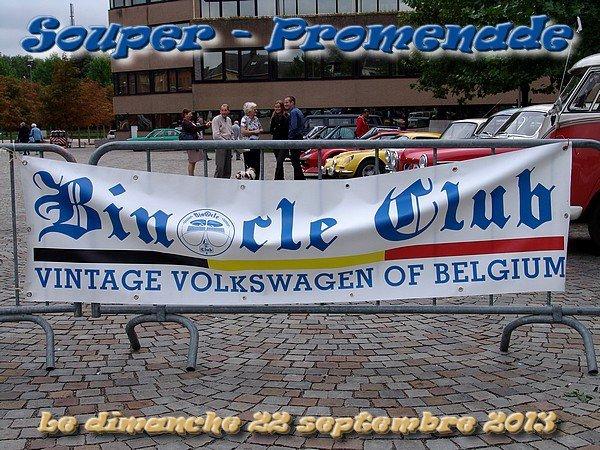 SOUPER-PROMENADE DU BINOCLE CLUB - dimanche 22 septembre 2013