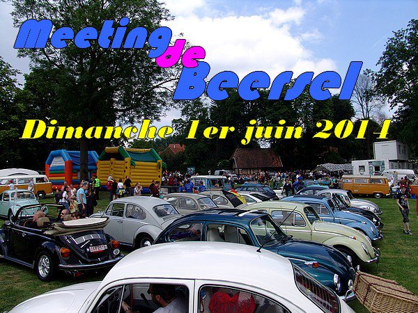 MEETING DE BEERSEL - 1er juin 2014
