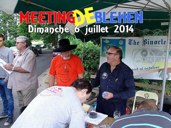 MEETING DE BLEHEN - Le dimanche 6 juillet 2014