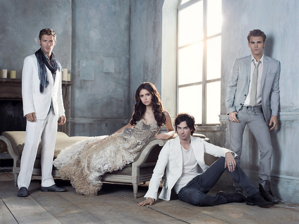 . The Vampire Diaries : Photoshoot du Trio pour le magazine Rolling Stones.  .