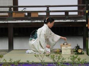 Cérémonie du thé - Chanoyu
